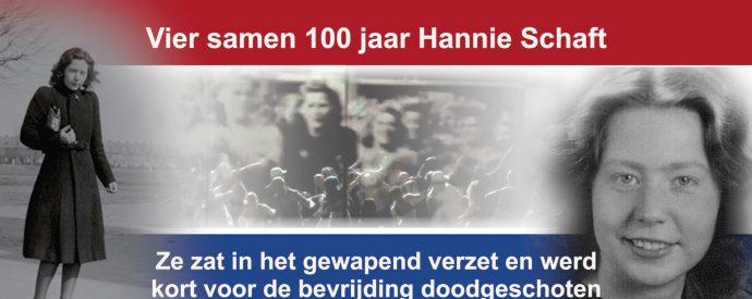Saluut 100 vrouwen voor 100 jaar Hannie Schaft