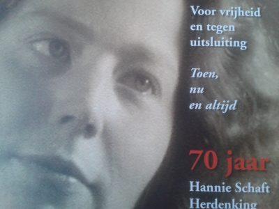 70 jaar Hannie Schaft Herdenking