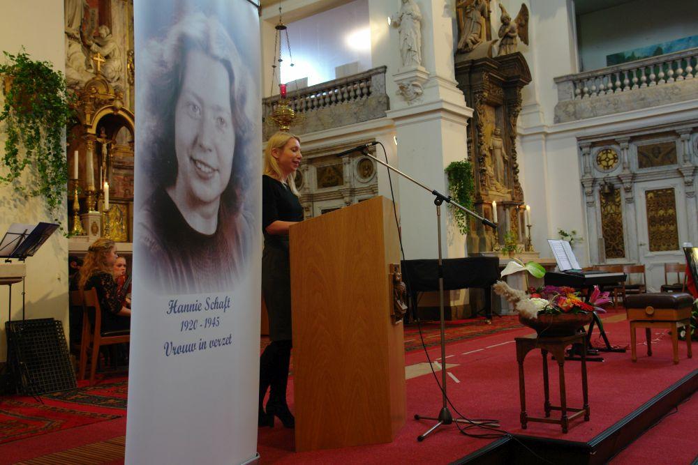 Hannie Schaft lezing door Ingrid Chijs