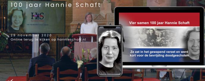 Viering 100 jaar Hannie Schaft met vicepremier Kajsa Ollongren