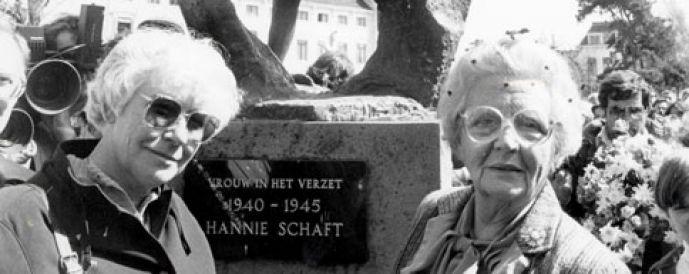Standbeeld Hannie Schaft